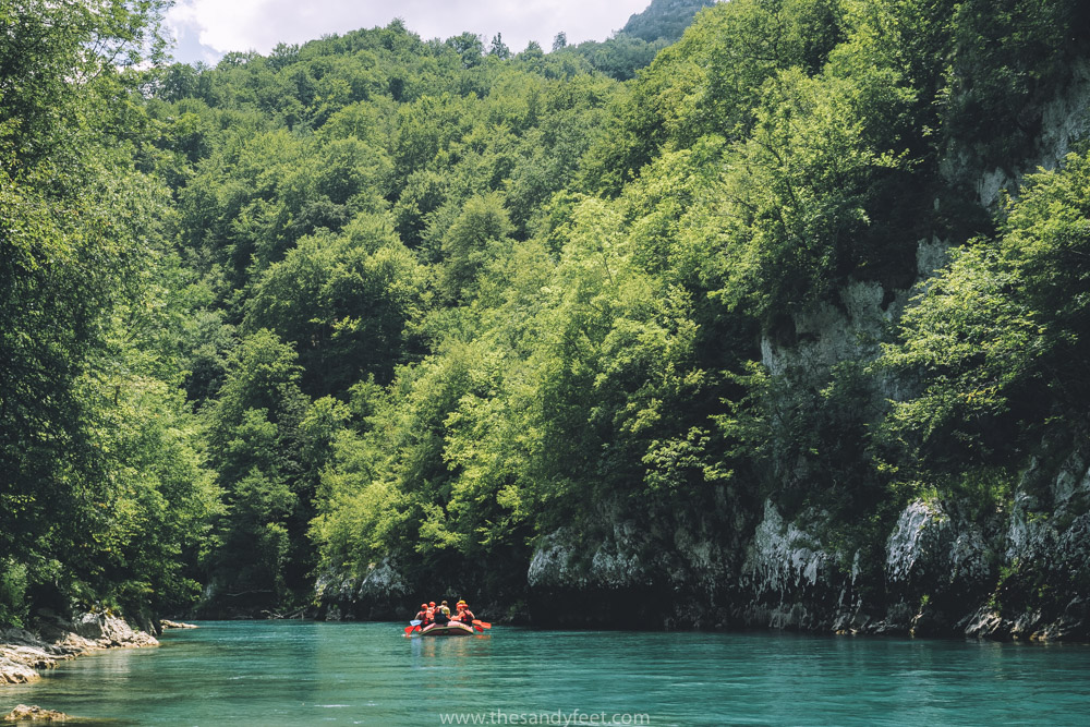Hiking and Rafting in Sutjeska National Park