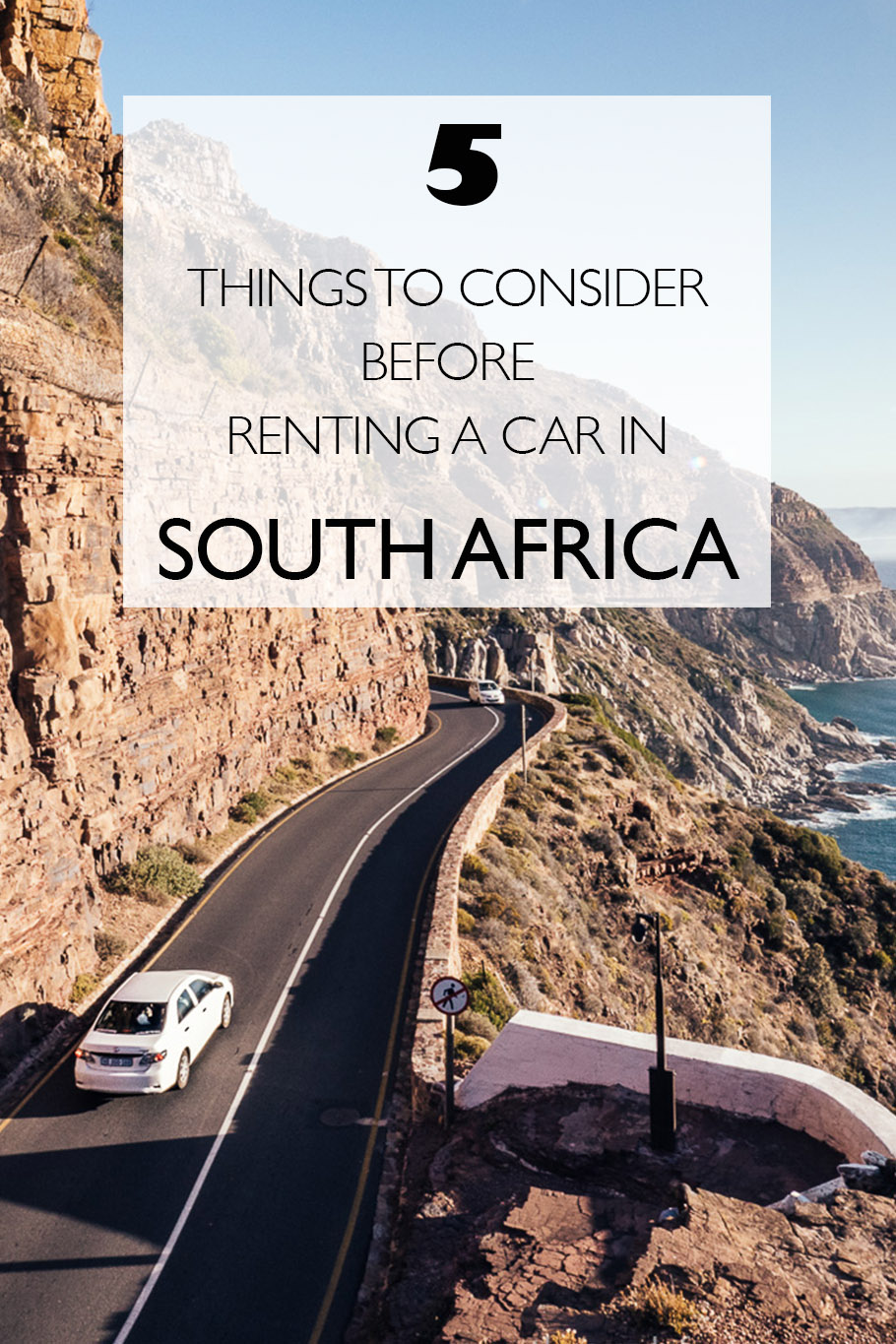 5 Things To Consider Before Renting A Car In South Africa | Car Rental South Africa