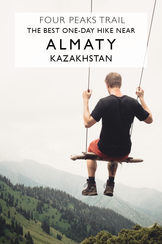 The Four Peaks Trail: The Best One-Day Hike Near Almaty Kazakhstan
