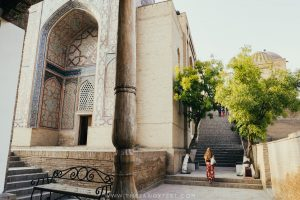 Arriving at Shah-I-Zinda | Samarkand Travel Guide: The Best Things To Do In Samarkand, Uzbekistan