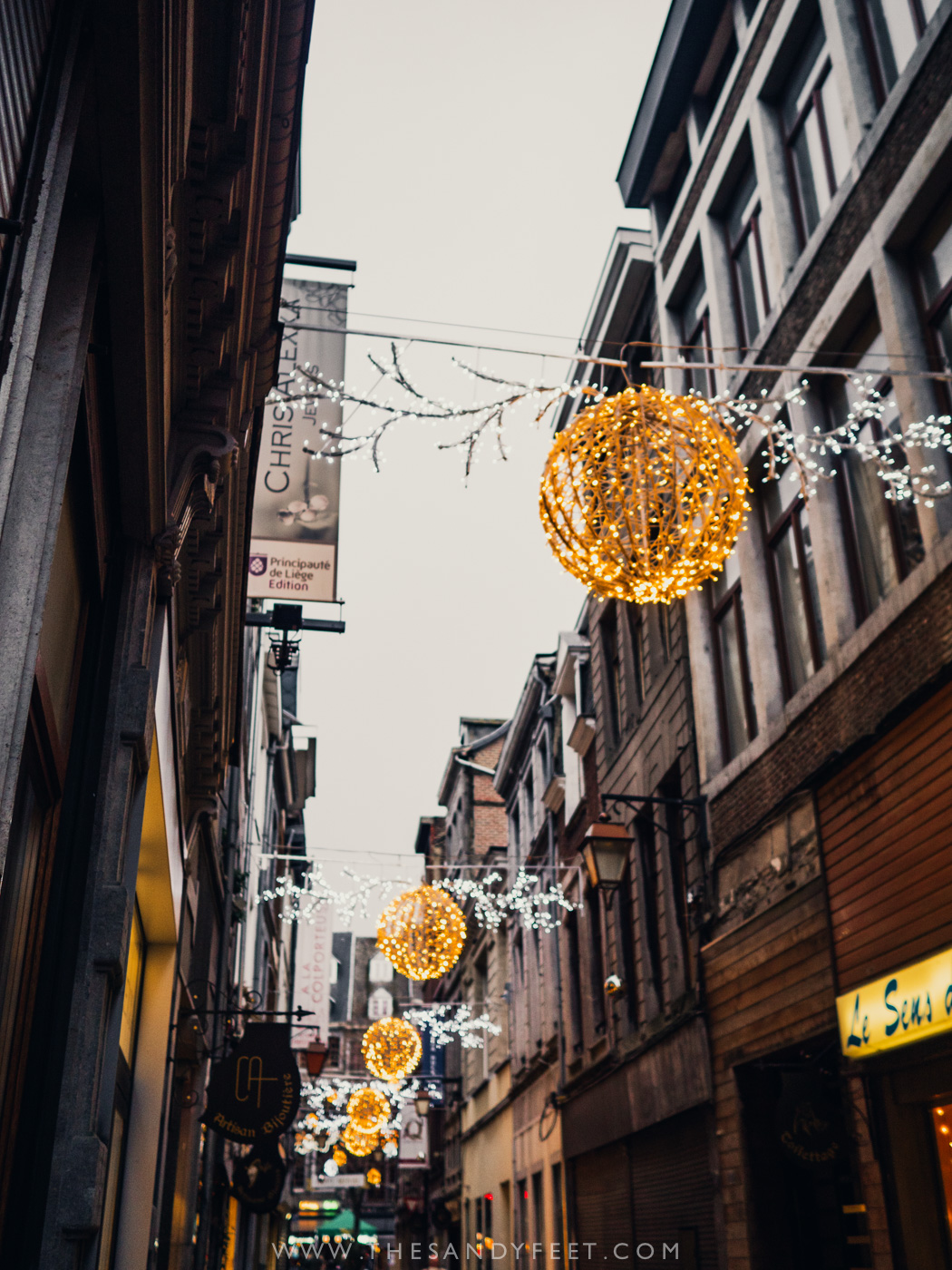 Liege's Christmas Market | Top Things To Do In Liege in Belgium's Wallonia Region.