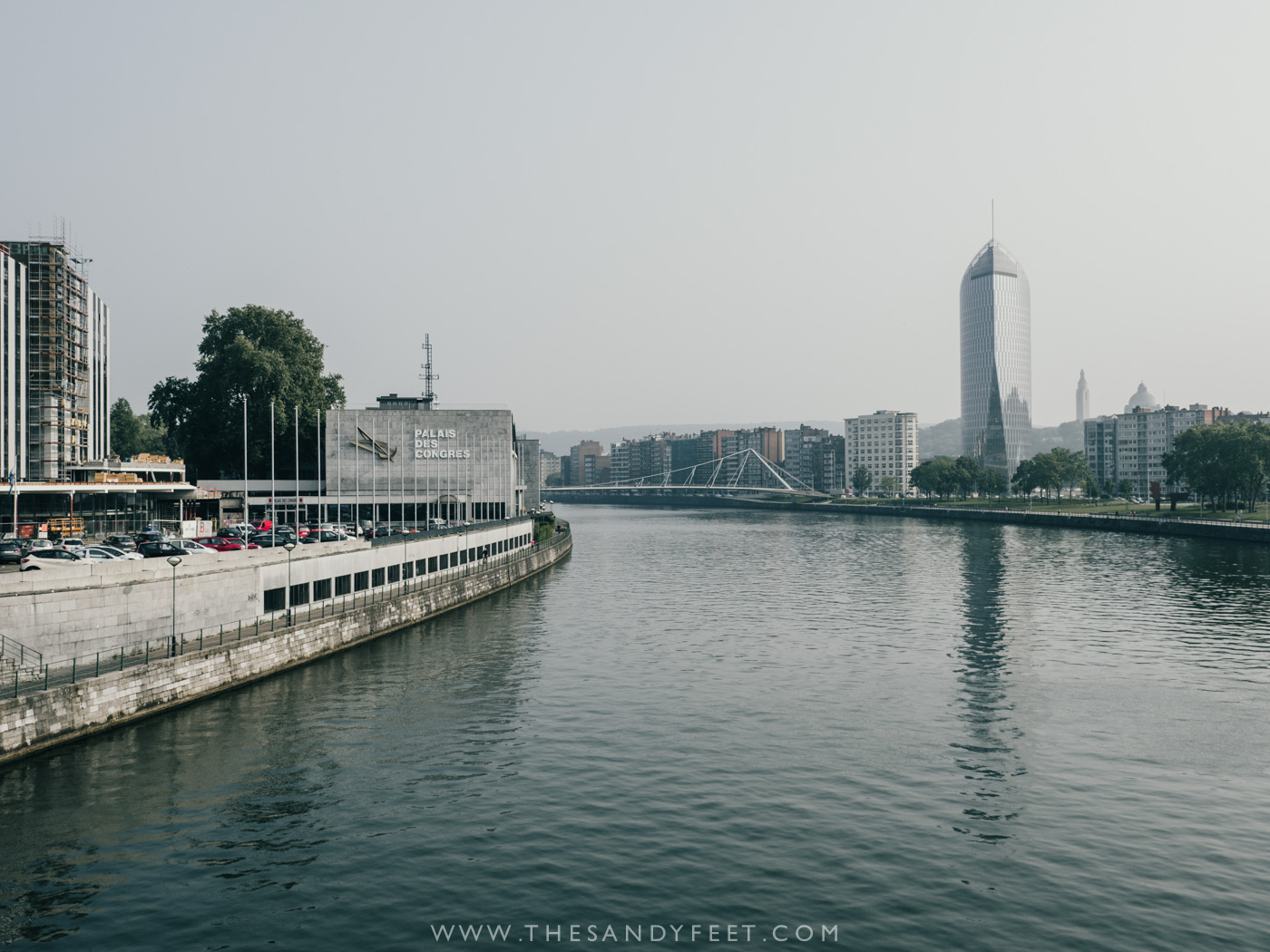 Walking the Liege Waterfront | Top Things To Do In Liege in Belgium's Wallonia Region.