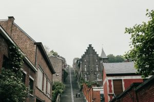 Climbing the soaring staircase of Montagne de Bueren | Top Things To Do In Liege in Belgium's Wallonia Region.
