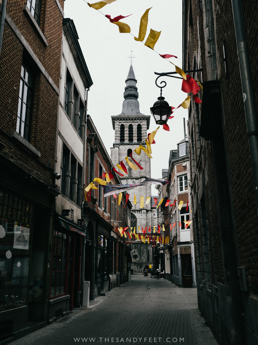 Explore the old town of Namur | A perfect weekend itinerary in the Namur region and one of the best things to do in Namur and Belgium's Wallonia Region.