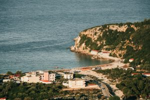 Livadhi Beach | A Short Guide To The Best Things To Do In Himara, Albania: Where To Go, Stay And Eat In Albania's Best Beach Town And A Firm Favorite Along The Albanian Riviera.
