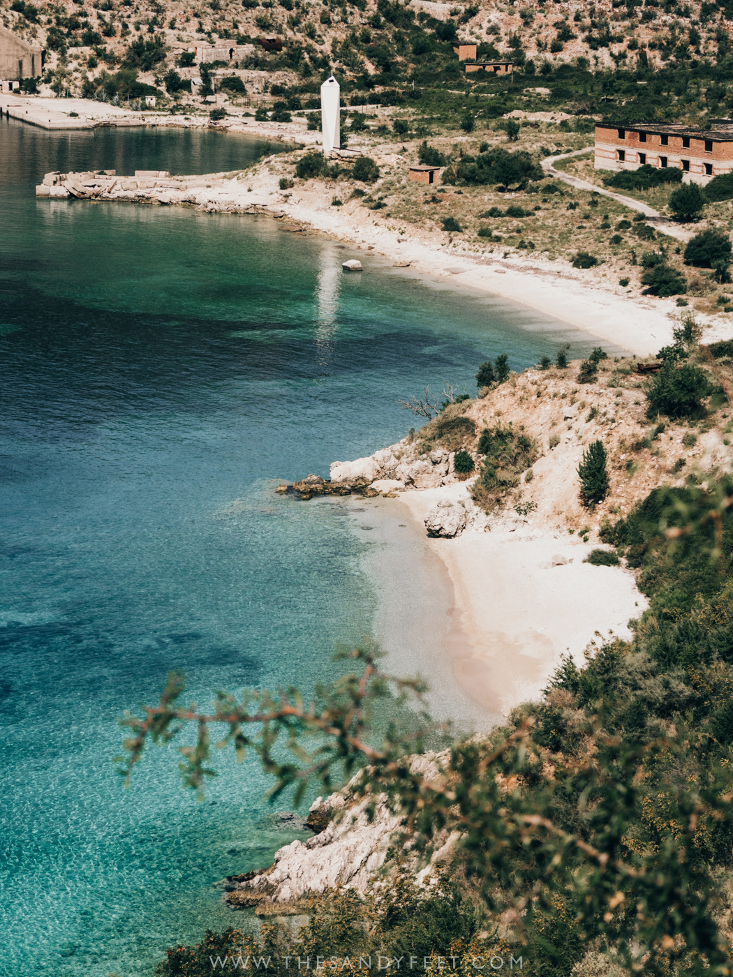 Porto Palermo | A Short Guide To The Best Things To Do In Himara, Albania: Where To Go, Stay And Eat In Albania's Best Beach Town And A Firm Favorite Along The Albanian Riviera.