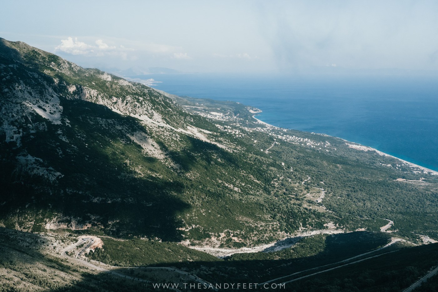 Llogara Pass | A Short Guide To The Best Things To Do In Himara: Where To Go, Stay And Eat In Albania's Best Beach Town And A Firm Favorite Along The Albanian Riviera.